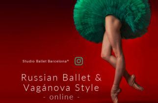 Clases online de ballet. Nivel intermedio