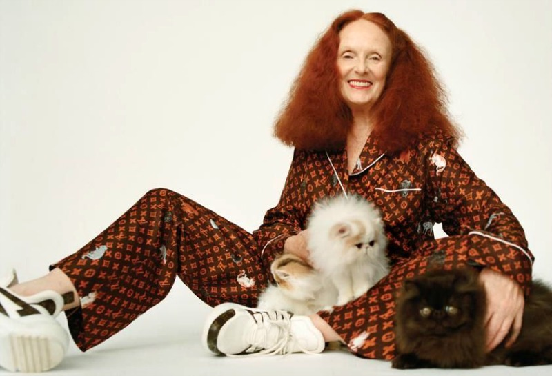 Louis Vuitton by Grace Coddington