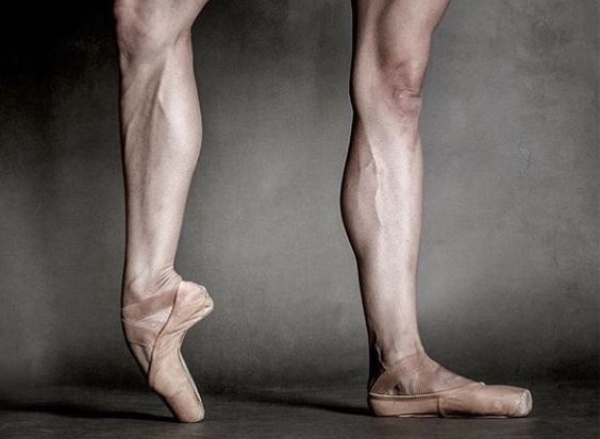 ¿Zapatillas de puntas masculinas? Si, aquí están!